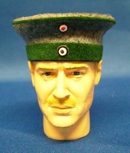 Banjoman 1:6 Scale custom made WW1 german imperial navy officer visor cap